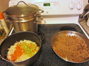starting vegetables