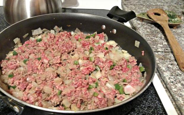 add meat
